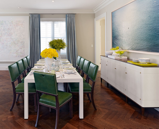 Pacific Heights Family Home contemporary-dining-room