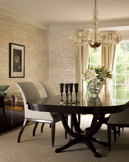 Pacific Heights Glamour Contemporary Dining Room