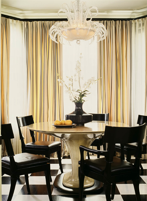 Pacific Heights Victorian Traditional Dining Room