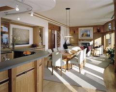 Pacific Rim Home contemporary-living-room
