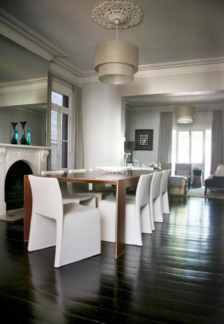 Paddington Terrace contemporary-dining-room