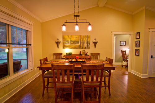love the light over the dining room table what is the brand
