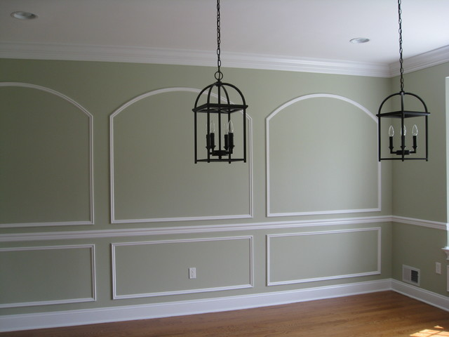 Paint selection traditional dining room other metro for Room colour selection