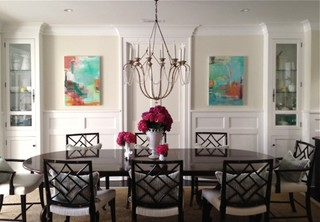 Modern Farmhouse Dining Room Decor Pendant Lights Chandeliers