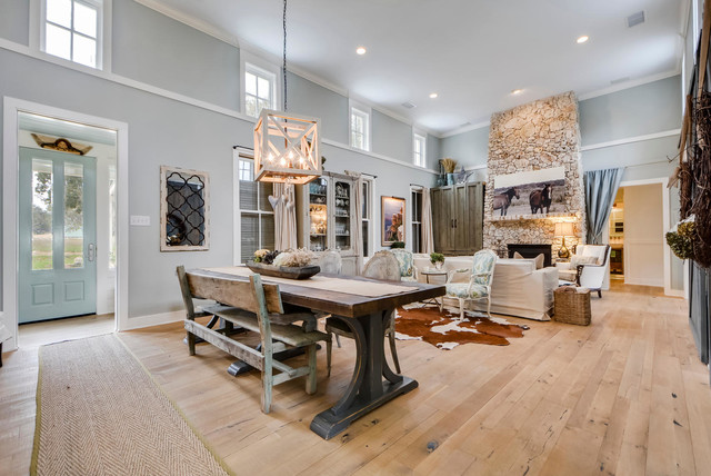 Paleface Ranch - Country - Dining Room - Austin - by Van Wicklen ...