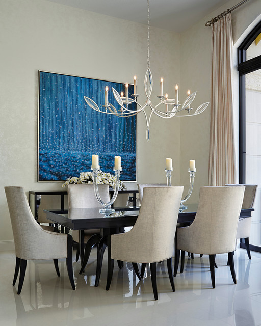 Palm Beach Condo Contemporary Dining Room Miami By