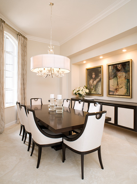 Palm Beach Gardens Home Remodel Transitional Dining Room Miami By Georgia Merten