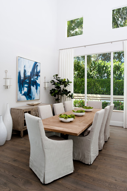 Palm Beach Gardens Private Residence Transitional Dining Room Other Metro By Tanner