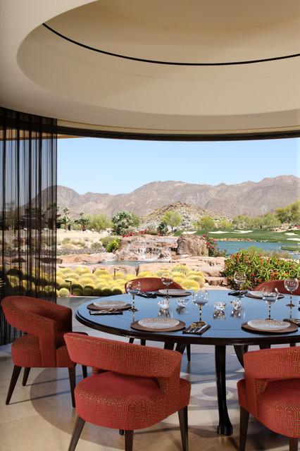 Palm Desert Dining Room contemporary-dining-room
