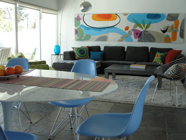 Palm Springs contemporary-dining-room
