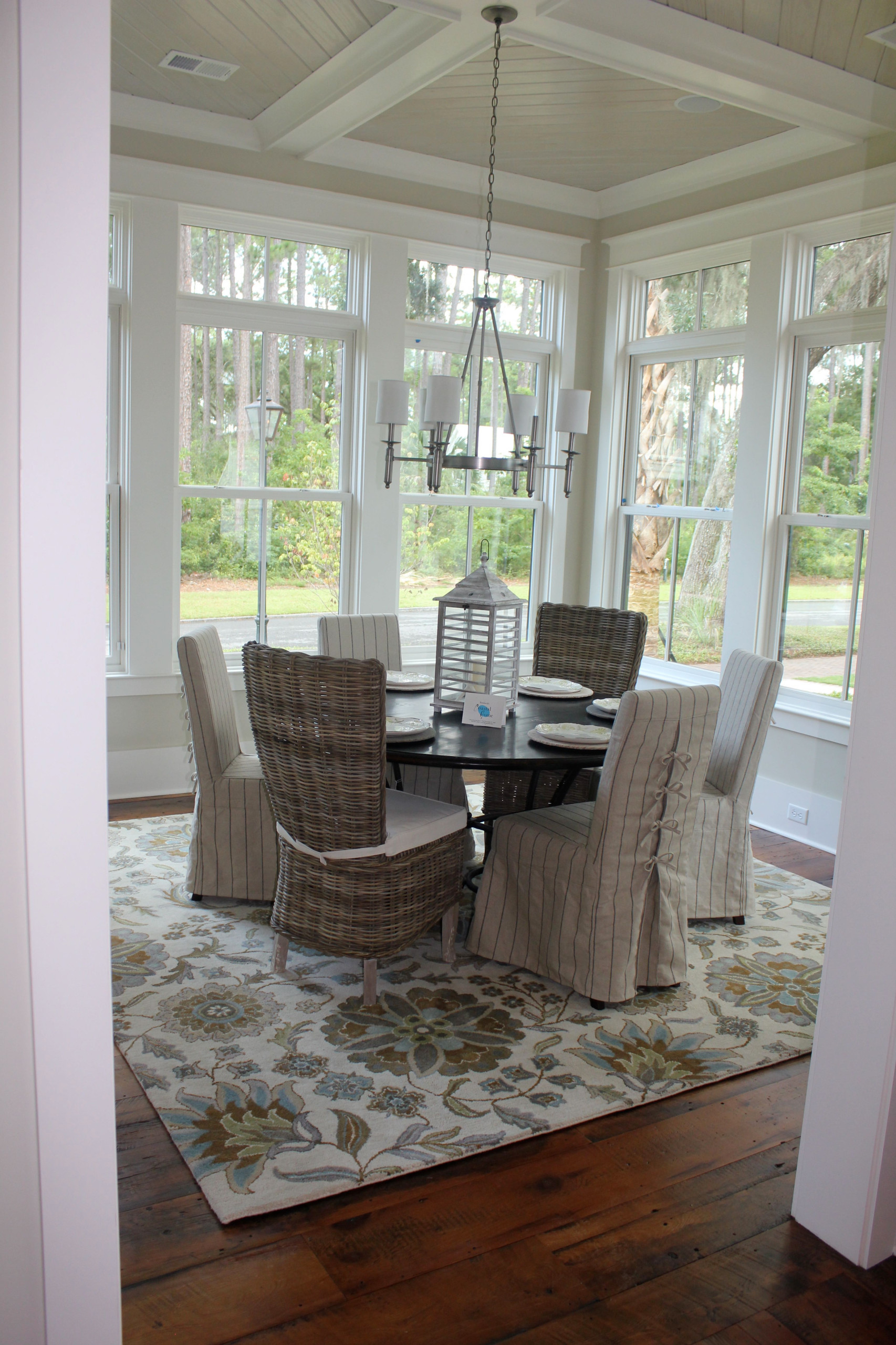 Palmetto Bluff Model Home Dining Room