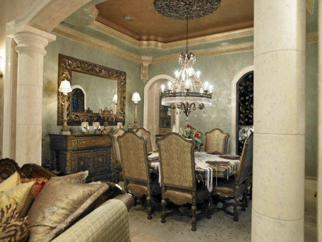 Palmiera Circle Traditional Dining Room Houston By