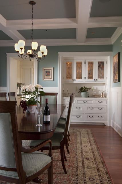 Palo alto arts and crafts craftsman dining room san - Houzz palo alto ca ...