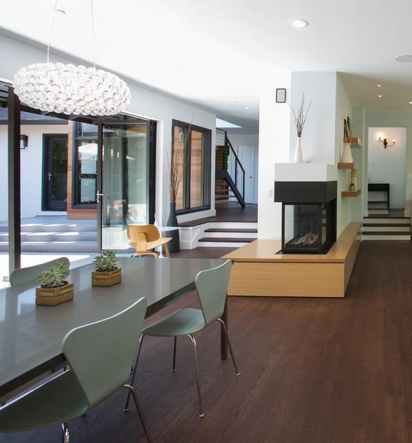 Mid Century Dining Room Plants: Palo Alto Mid Century