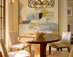 Palo Alto Residence transitional-dining-room
