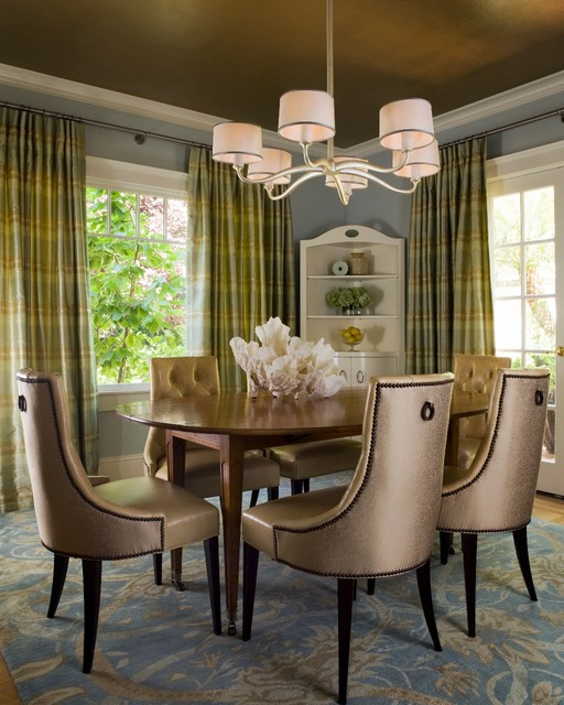 Transitional Dining Room: Palo Alto Residence