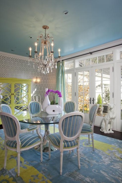 Pam Dobrick eclectic-dining-room