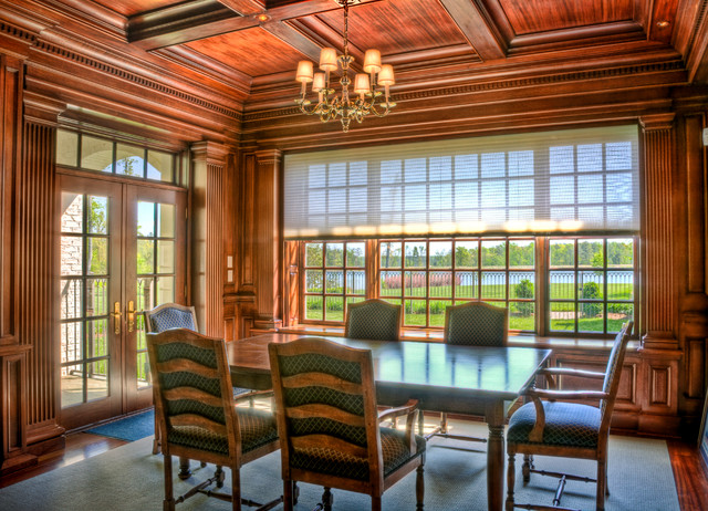Paneled Dining Room traditional-dining-room