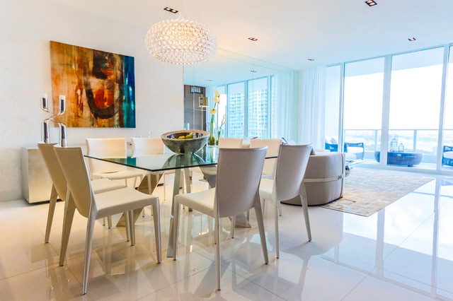Paramount bay private residence for Best private dining rooms miami