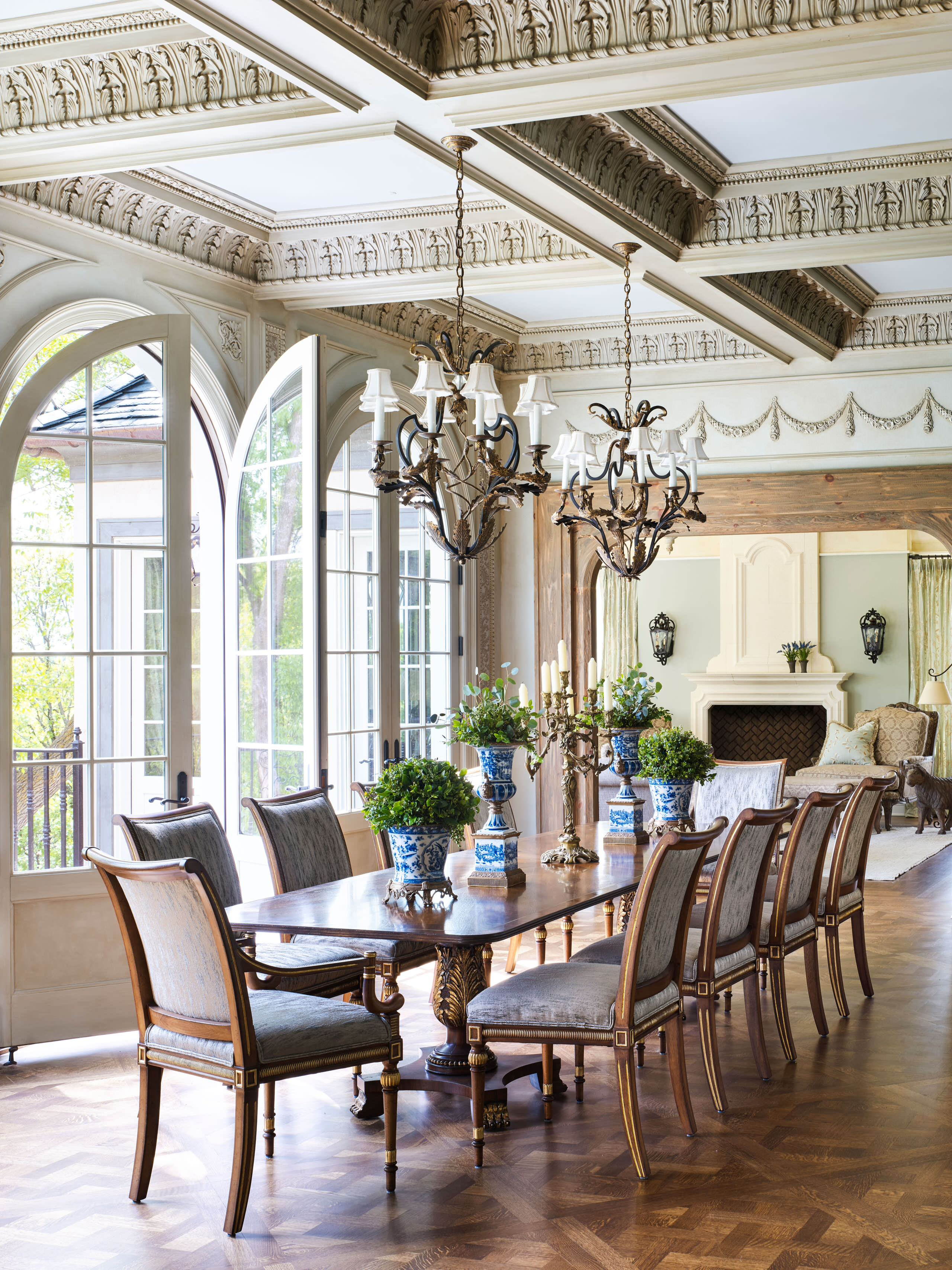 Victorian Dining Room Pictures Ideas, Victorian Style Dining Room Setup