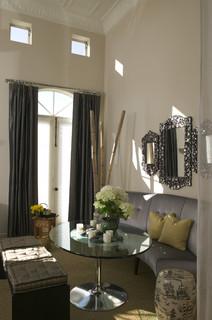 Parisian salon eclectic dining room