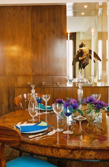 Park Avenue Apartment modern-dining-room