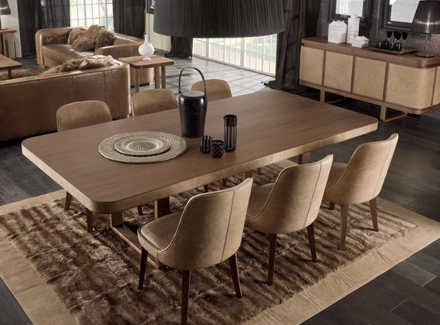 park avenue table gael chairs contemporary dining room toronto