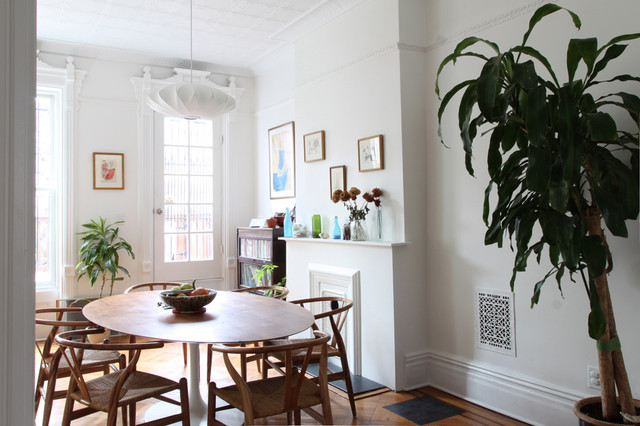 Park slope brownstone contemporary dining room new for Dining room design questions