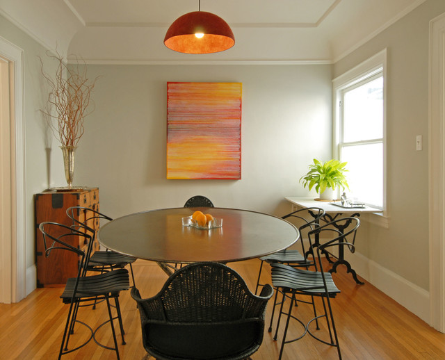 Parkside House midcentury-dining-room
