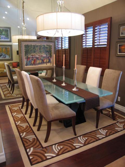 Pasadena Ca Condo Remodel Contemporary Dining Room Los Angeles By Marlene Oliphant