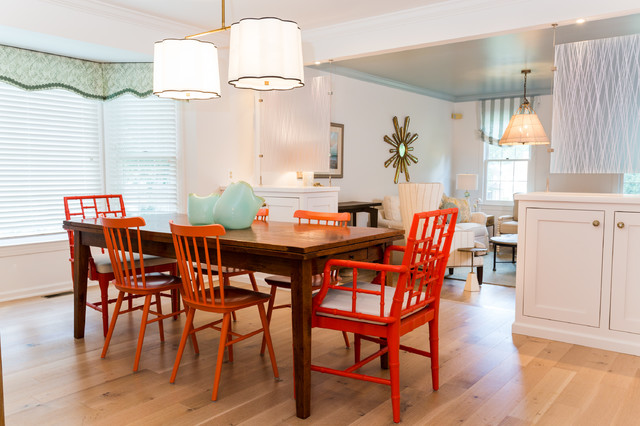 beach house in the suburbs beach style dining room dc metro by
