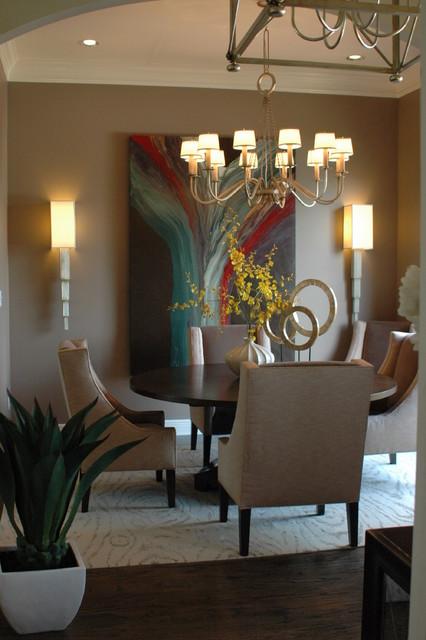 Patel Residence Dining Room modern-dining-room