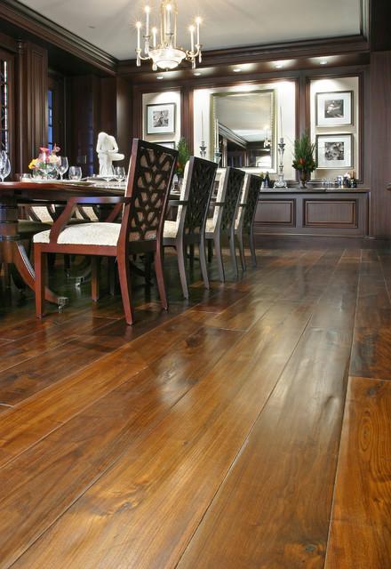 Patina Old World Flooring Traditional Dining Room