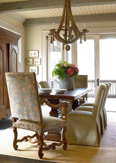 Peachtree Battle Farmhouse farmhouse-dining-room