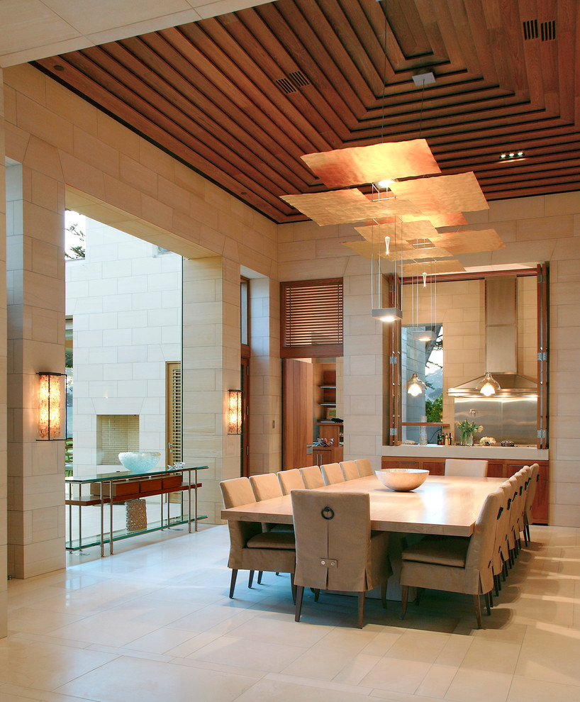 Example of a huge trendy dining room design in San Francisco