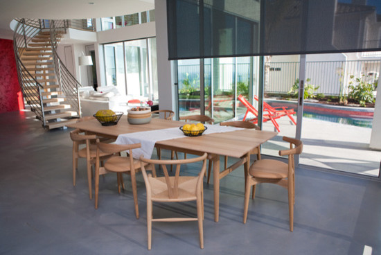 SAN CLEMENTE California Home contemporary-dining-room