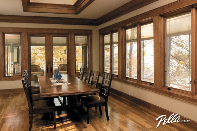 Pella Designer Series Casement Windows With Between The