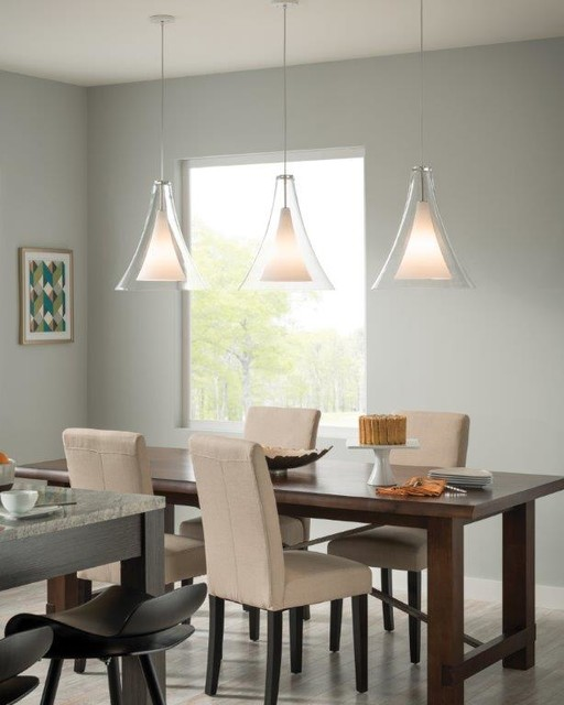 Transitional Dining Room Chandeliers: Pendant Lighting