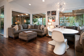 Penrose Drive - Contemporary - Dining Room - salt lake city - by Marvin Jensen @ Windermere Real ...