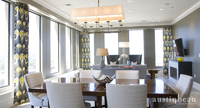 Penthouse Apartment contemporary-dining-room