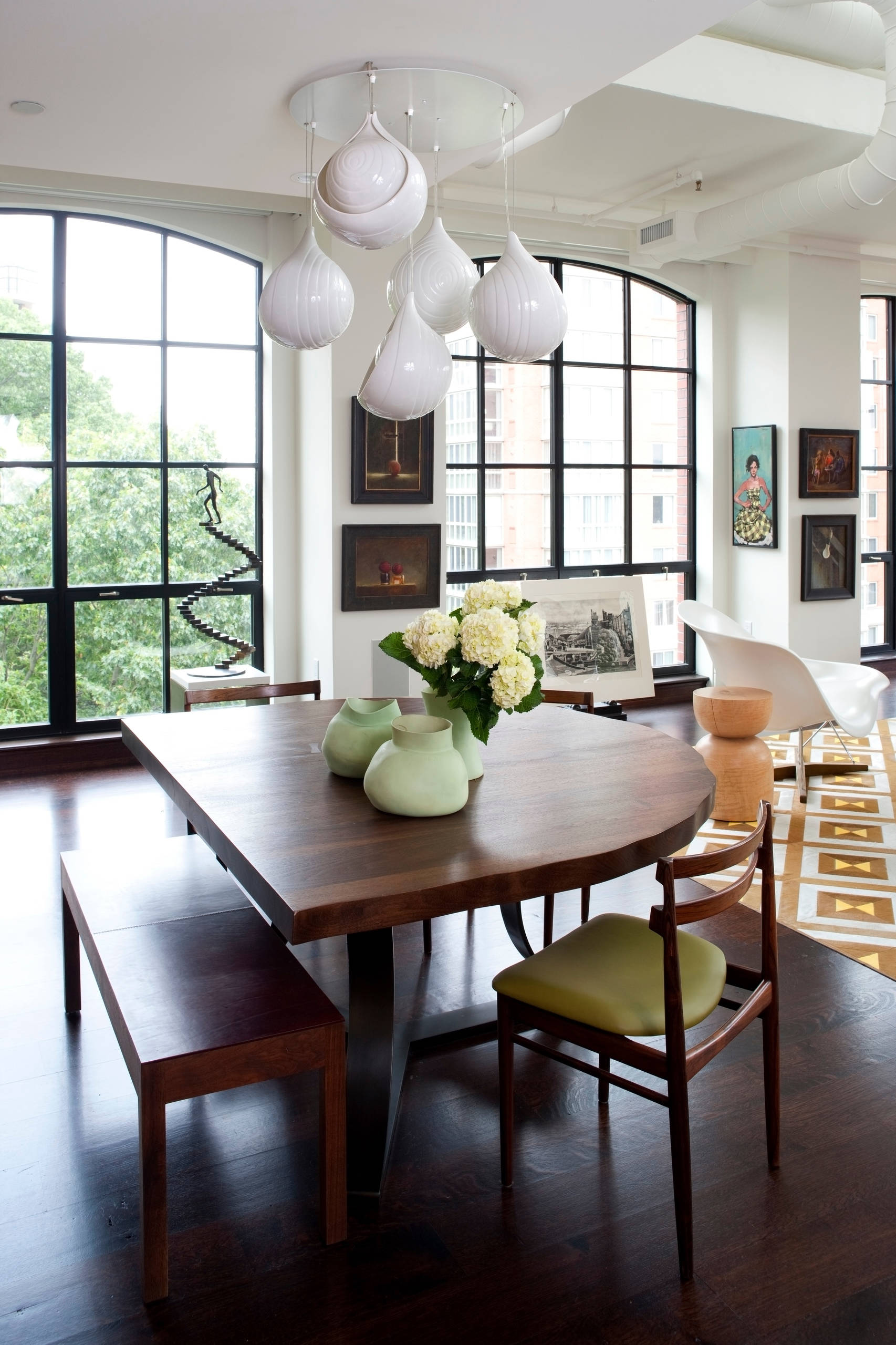 Picture of: Half Circle Dining Table Houzz