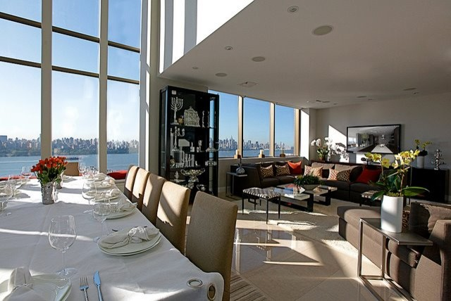 Penthouse Dining Room Lounge Area