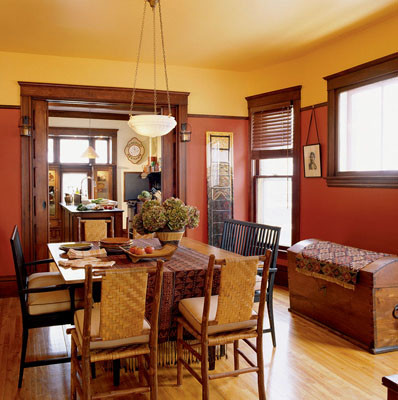 Peppery sw 6615 rustic dining room by sherwin williams for Rustic paint colors from sherwin williams
