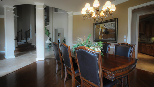 PERFECTION IN PEARLAND!  From Houston Home Staging... eclectic-dining-room