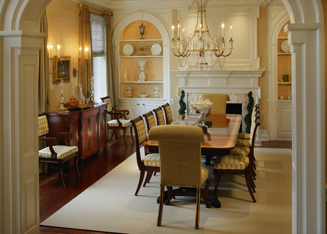 Period colonial home dining room philadelphia by for Home decor dining room