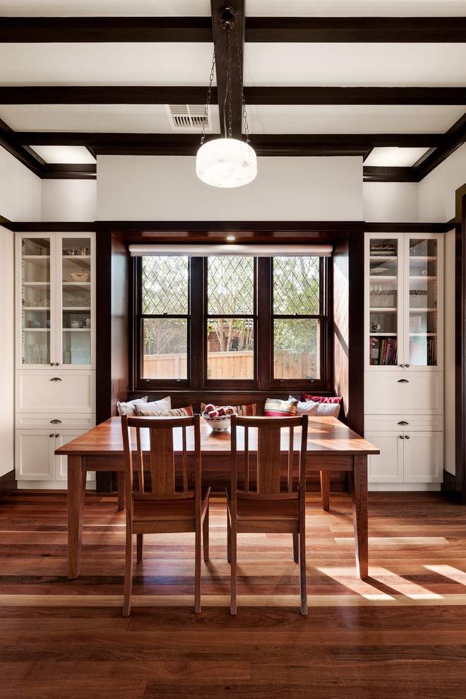Inspiration for a dining room remodel in Melbourne