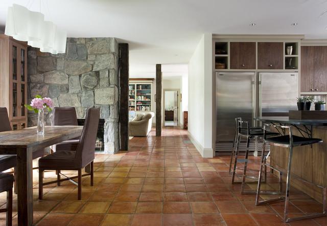 Persimmon rustic-dining-room
