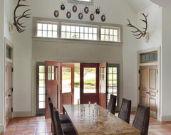 Persimmon rustic-dining-room