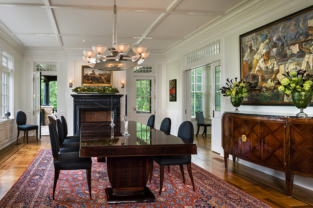 Peter Zimmerman Architecture,  Griffiths Construction traditional-dining-room