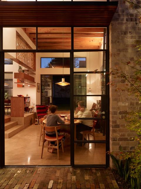 Petersham House contemporary-dining-room